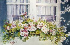 Medio de la acuarela - - Pintura Gaetane Lessard