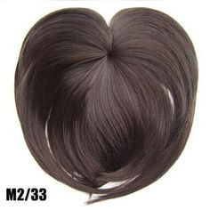 Silky Clip-On Hair Topper Wig Heat Resistant Fiber Extension - Daily False Hair. 1 x Silky Clip-On Hair Topper. It is ahairpiece, not a full wig, anyone won't know you are wearing anything.Perfect solution to conceal thin hair, gray hair, hair loss. Extensions For Thin Hair, Synthetic Hair Extensions, Fake Fringe, Hairpieces For Women, Hair Toppers, Magic Hair, Natural Hair Styles, Long Hair Styles, Silk Hair