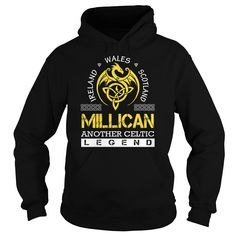 Ireland Wales Scotland MILLICAN Another Celtic Legend Name Shirts #Millican