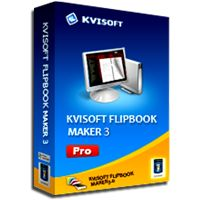 Kvisoft Flipbook maker- Convert your pdf files to flipping ebooks with embedded audio, video, images and flash files