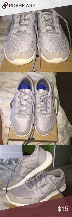 Reebok memory tech walking shoe Gray, memory tech, walking shoes Reebok Shoes Athletic Shoes