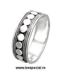 Inel din argint, pentru barbati - BeSpecial.ro
