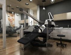 Useful Dental Office Grey Dental Cabinet, Cabinet Medical, Medical Office Decor, Modern Office Decor, Office Ideas, Clinic Interior Design, Clinic Design, Dental Aesthetics, Dental Logo