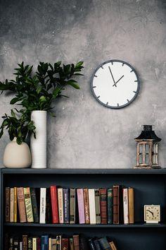 Custom Wall Clock, Wooden Wall Clock, Minimal Wall Clock, Design Clock, Modern Clock, Black White Clock, Clock for wall, Laser cut clock
