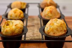 Garlic & Chive Popover a must!