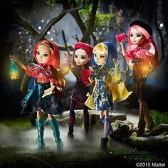 Through the Woods Ever After High Dolls