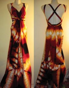 One Seam Sundress Pattern...definitely would choose different fabric, but love the shape of this dress.