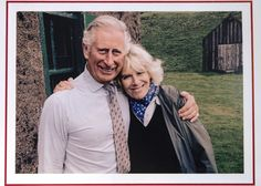Prince Charles and Camilla Pose for the Cutest Royal Christmas Card Ever!