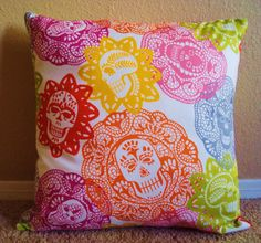 Papel Picado Throw Pillow Cover by ShopSugarsnap on Etsy, $14.50 @Meredith Davis