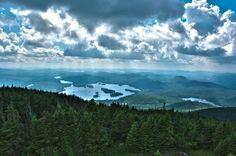 Blue Mountain Lake,                                    center of Adirondacks, NY