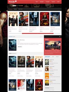 JM Pixeri Magento DVD Shop Theme