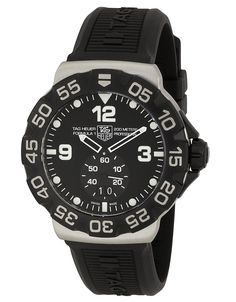 TAG Heuer Men's WAH1010BT0717 Formula One Grande Date Black Dial Watch * You can find more details by visiting the image link.