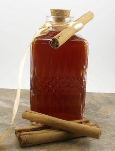 Homemade Cinnamon Schnapps
