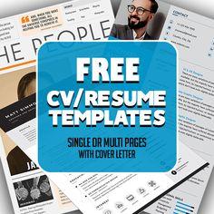 16 Free Modern CV / Resume Templates (PSD)