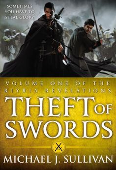 Theft of Swords, Vol. Revelations) (Riyria Revelations by Michael J. Fantasy Book Reviews, Fantasy Books, Fantasy Series, Fantasy Fiction, High Fantasy, Fantasy Art, Book Series, Book 1, Royce