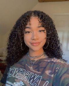 Cute Curly Hairstyles, Baddie Hairstyles, Girl Hairstyles, Braided Hairstyles, Curly Hair Styles, Natural Hair Styles, Boys With Curly Hair, Curly Girl, Hair Inspo