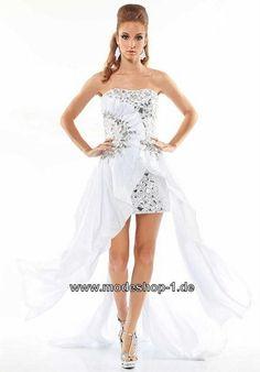 Elegante kleider vorne kurz hinten lang