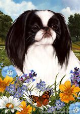 Garden Pick 3 Flag Set - Japanese Chin