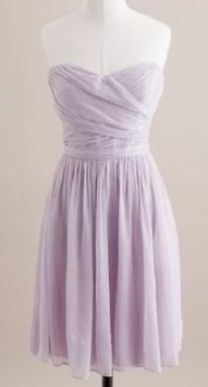 lavender dress! so beautiful :) maybe even bridesmaid dresses someday ;)