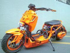 Moped Bike, Vespa Scooters, Motorcycle Bike, Custom Street Bikes, Custom Bikes, Concept Motorcycles, Cars And Motorcycles, Honda Motorbikes, 150cc Scooter