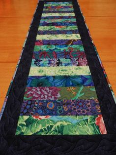 Quilted Table Runner  Kaffe Fasset and Marc Jacobs by LyndiArt, $55.00