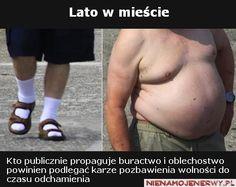 Lato w mieście, wielkie brzuchy i skarpety #LATO #HOT http://marcinkowsky.blogspot.com/