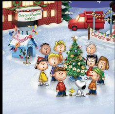 Charlie Brown Christmas. One of my favorite Christmas shows!