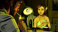 Bigby's office-The wolf among us