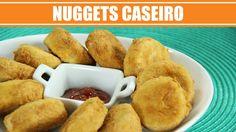 Receita de Nuggets Caseiro - Web à Milanesa