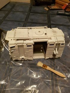 I finally get back to the Tinkering, Painting another masterpiece and starting the base coat of the Turtle Wagon. http://www.finalbossfight.co.uk/tech-ninja-tinkers-bob-ross-painting-and-turtle-party-wagon-part-2/?utm_campaign=crowdfire&utm_content=crowdfire&utm_medium=social&utm_source=pinterest