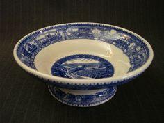 """Railroad China """"Taza"""" Bowl, Shenango China, Baltimore/Ohio [Vintage] by MaGriffeBoutique on Etsy"""