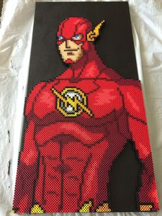 The Flash perler by riperry