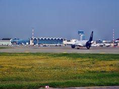 Uitzicht op luchthaven Boekarest-Otopeni. #boekarest #OTP Otp