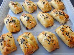 Les receptes que m'agraden: Crestes d'espinacs i formatge fresc - Empanadillas de espinacas y queso fresco