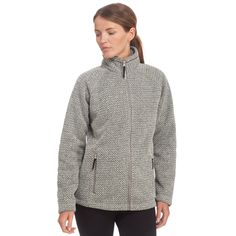 Stay snug with the Craghoppers Cayton Fleece Jacket - ideal for walking, hiking and casual adventures.