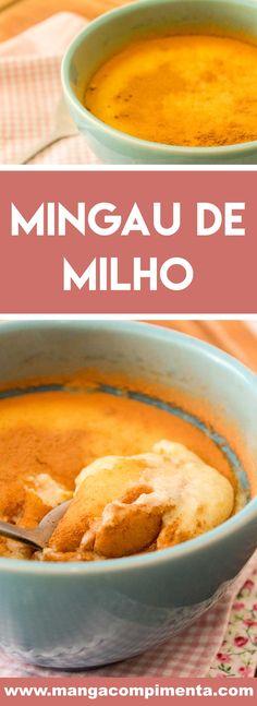 Receita de Mingau de Milho Verde - prepare nesse inverno, para comer junto com a família! #receitas