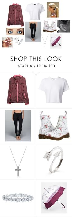 """Raining Day"" by simplyfabulous06 ❤ liked on Polyvore featuring MANGO, Proenza Schouler, lululemon, Dr. Martens, David Yurman, Harry Winston and Hunter"