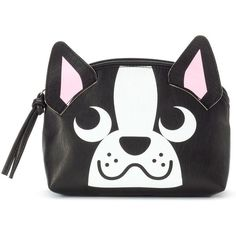 Mudd Animal Dome Cosmetic Case, Dog (218755 BYR) ❤ liked on Polyvore featuring bags, beauty, accessories and dog