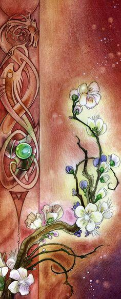 Plum Blossoms, Stephanie Law