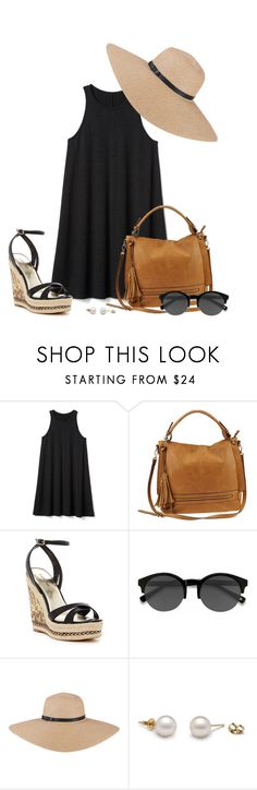 """""""Boho LBD"""" by kingsamuel ❤ liked on Polyvore featuring Gap, Urban Expressions, Bebe and EyeBuyDirect.com"""