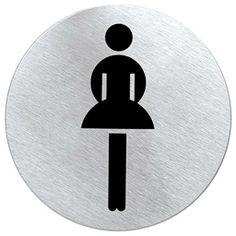 #Piktogram - #oznaczenie #wc - #toaleta #damska