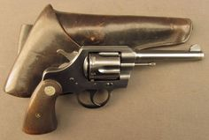 WW2 Colt Revolver Official Police (Naugatuck Chemical Co.)