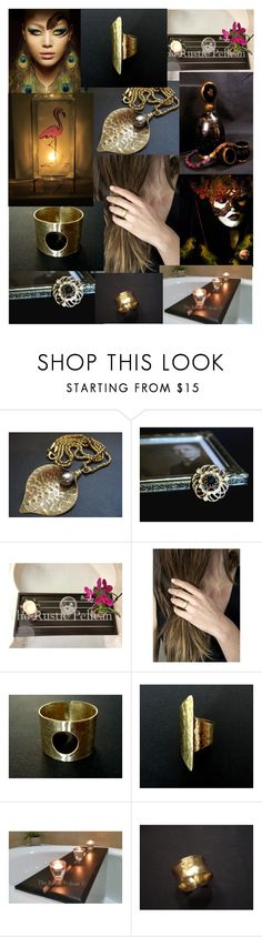 """Midnight Shadows"" by anna-recycle ❤ liked on Polyvore featuring WALL, modern, rustic and vintage"