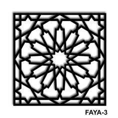 This Pin was discovered by Jam Islamic Art Pattern, Arabic Pattern, Pattern Art, Pattern Design, Metal Art, Wood Art, Motifs Islamiques, Cnc Cutting Design, Laser Cut Patterns