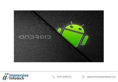 The Android operating system is without a doubt the most popular and one of the highly used #operating #systems today. #ImmersiveInfotech is an established #android #appdevelopment company that delivers qualitative android apps development solutions to businesses around the globe. We have proven expertise in #Androidappdevelopment, as a result you can rest assured about value-added services to your #mobile #operations. We facilitate our skilled professionals with all the necessary…