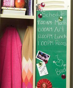 Look what I found on #zulily! Schoolhouse Green Chalkboard Decal #zulilyfinds