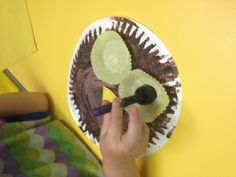 paper plate owl craft & story idea