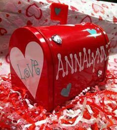 Valentine mailbox $8