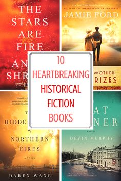 Historical fiction books worth reading, including historical fiction true stories, with elements of romance, suspense, and more. These emotional reads also include great WWII history books.