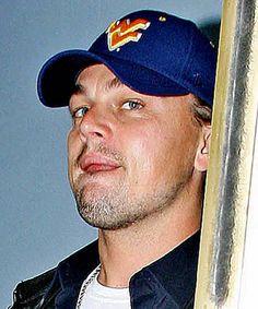 Leonardo DiCaprio in a WVU ball cap! :)